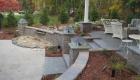 04-Cabana with waterfall, lighting, custom built bar and plantings (1)
