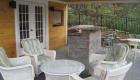 05-Cabana with waterfall, lighting, custom built bar and plantings (2)