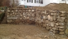 1-12 foot tall natural stone wall approved by Natick Historicle Commission (1)