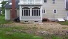14-Formal bluestone patio with granite cobble edging (3)