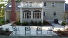 15-Formal bluestone patio with granite cobble edging (4)