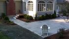 17-Formal bluestone patio with granite cobble edging (6)