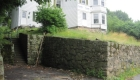 2-12 foot tall natural stone wall approved by Natick Historicle Commission (2)