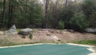 20-pool area renovation including retaining walls, plantings, patio, landscape lighting (3)