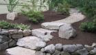 23-Olde Sturbridge Stepper with pea stone walkway (1)