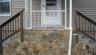 24-Veneer over old stairs using natural fieldstone and bluestone treads (2)