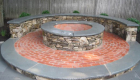 25-bluestone patio with pennsylvania fieldstone wall and firepit (5)
