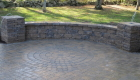 27-Techo Bloc Athena patio with sitting wall and circle kit (6)